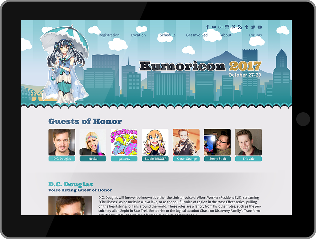 Kumoricon tablet website
